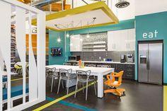 Playa Jefferson - in Los Angeles, CA #midsizeoffice #commercialspaces #commercialinteriors #design #flooring