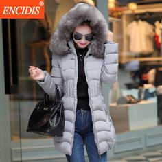 $24.60 (Buy here: https://alitems.com/g/1e8d114494ebda23ff8b16525dc3e8/?i=5&ulp=https%3A%2F%2Fwww.aliexpress.com%2Fitem%2FPlus-size-Women-coat-Winter-2016-New-Fashion-Lady-Cotton-Padded-Jackets-Slim-Female-Clothing-Fur%2F32721156328.html ) Plus size Women coat Winter 2016 New Fashion Lady Cotton-Padded Jackets Slim Female Clothing Fur collar Parkas Long coats M42 for just $24.60
