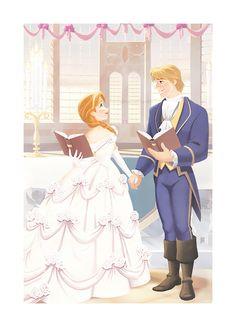 Frozen - Anna - Kristoff