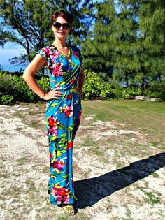Celebrate the warm, sunny breeze of summer by making a maxi dress pattern that is flattering, fancy, and tropical. This free dress pattern for sewing is a long dress pattern that will help show off your curves while draping nicely over areas you might be self-conscious about. Be the tropical goddess you have always wanted to be when you learn how to make a dress with this Tropical Wrap Dress Pattern. This lovely pattern looks fantastic in a floral print, but would look just as flattering in…