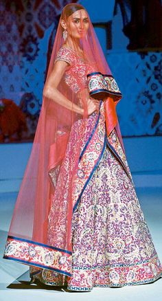 Varma's latest collection mixes traditional Indian and Spanish elements