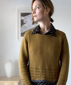 Maple Ripple Pullover by Megan Goodacre