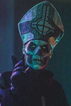 """namelessworshippers: """"Papa Emeritus © Tim Griffin """""""