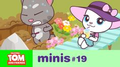 Talking Tom and Friends Minis - Underground Adventure (Episode Talking Tom 2, Diy Games, Tom S, Hack Online, Unicorn Birthday Parties, Animation Series, Pretty Cool, More Fun, Things That Bounce