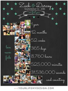 Diy Birthday Gifts Discover ANNIVERSARY Anniversary Photo Collage Anniversary Gift for boyfriend Anniversary Gift for girlfriend First Anniversary Mothers Day Girlfriend Anniversary Gifts, 1 Year Anniversary Gifts, First Anniversary, Anniversary Photos, 1 Year Anniversary Gift Ideas For Boyfriend, Wedding Anniversary, Gift For Girlfriend, Anniversary Scrapbook, Cute Boyfriend Gifts