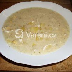 Fotografie receptu: Hustá květáková polévka s vejci a brambory Cheeseburger Chowder, Soup, Soups, Chowder