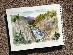 DON GETZ 'WATERCOLOR JOURNAL TOUR' OF THE USA: Yellowstone