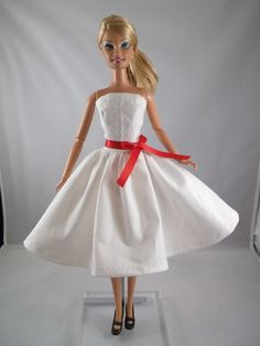 Cute handmade Barbie clothes