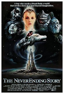 The NeverEnding Story (film) - Wikipedia Movies Showing, Movies And Tv Shows, Popcorn Times, The Neverending Story, We Movie, A Star Is Born, Movie Posters, Fictional Characters, Wall Mural