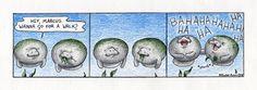 Happy Monday Man vs. Manatee! (:3) Here's the new comic by Rachel Arnow!