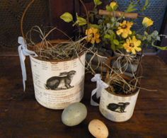 Primitive Easter & Spring Home Decor