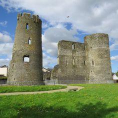 St Aidans, Norman Castle, Volcanic Rock, Castle Wall, Still Standing, Historical Sites, Tour Guide, Ferns, Castles