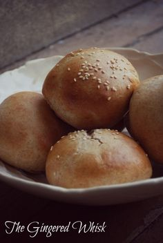 Tried these the other day..they were great! Quick and Easy Whole Wheat Hamburger Buns