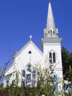 Historic Presbyterian Church, Mendocino, California