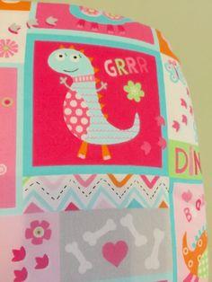 Pink toddler sheet set, toddler sheets, dinosaur sheets, toddler bed sheets, baby girl sheet set, crib sheet set, pink nursery sheet set