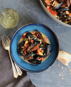 Diana Yen's Recipe for Mussels In White Wine | Lonny.com