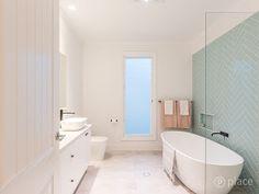 Our Hampton Style Forever Home: A Modern Hamptons Masterpiece Bathroom Design Inspiration, Bathroom Interior Design, Design Ideas, Hamptons House, The Hamptons, Bathroom Styling, Bathroom Inspo, Building A House, House Design
