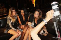 Girls during a shoot   featuring Toothpaste Kisses  Donia Gigot, Priscilla Miegemolle Dime, Hortense Saint Pères -   Etienne Jeanson FW 10-11  Fashion - model - photography - Paris