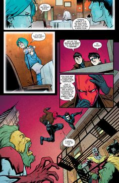Nightwing (2016) Issue #15 - Read Nightwing (2016) Issue #15 comic online in high quality