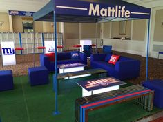 Football Tailgate Bar Mitzvah Party Theme by The Event of a Lifetime - mazelmoments.com