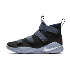 02410f7bd28 Nike LeBron Soldier XI Men s Basketball Shoe Size 10.5 (Grey). Roneldo  Johnson ii