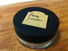 DIY Oil-Absorbing Powder