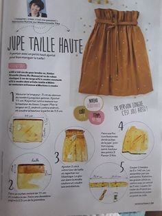 Jupe taille haute...superbe en version longue - #en #hautesuperbe #jupe #longue #Taille #Version Coin Couture, Couture Sewing, Diy Clothing, Sewing Clothes, Fashion Sewing, Diy Fashion, Sewing Patterns Free, Sewing Tutorials, Prom Dresses Long With Sleeves