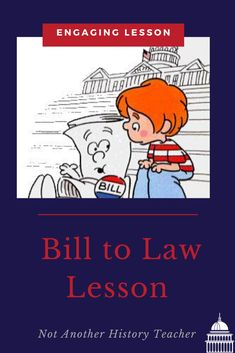 Accelerate and engage your government students' with this How a Bill Becomes a Law Lesson! This product contains PowerPoint with video links, handout to take notes, matching game, and legislative hurdles assignment. This is a full 55-minute lesson on how a bill becomes a law. This lesson is sure to engage them in the content and make them critically analyze the Legislative Branch.