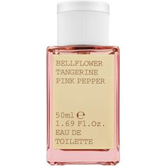 KORRES Bellflower Tangerine Pink Pepper Eau de Toilette ($39) ❤ liked on Polyvore featuring beauty products, fragrance, perfume, fillers, beauty, kosmetyki, perfume fragrance, fruity perfume, eau de toilette perfume and edt perfume