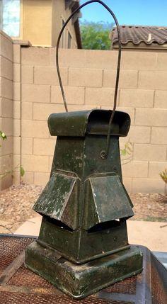 Vintage WW2 WWII British Military Blackout Lantern w/Original Lenses - EC!  | eBay