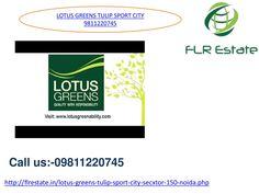 Lotus greens tulip sports city 1 9811220745