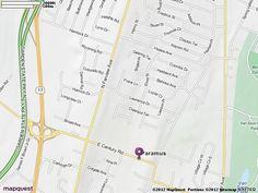 Paramus, NJ Map | MapQuest