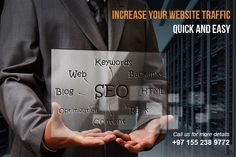 INCREASE YOUR WEBSITE TRAFFIC QUICK AND EASY. in Hamriya Free Zone, UAE,, Dubai, Dubai, AE | GNclassifieds.com