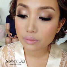Makeup and hair by Sophie Lau www.sophielau.com #makeup #sophielau #asianmakeup…