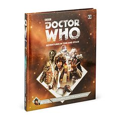 Doctor Who RPG 4th Doctor Hardcover Guide | ThinkGeek