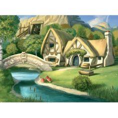 Paysage enfant1- Maison Rivière Pont