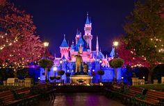 Sleeping Beauty Castle & Partners Statue
