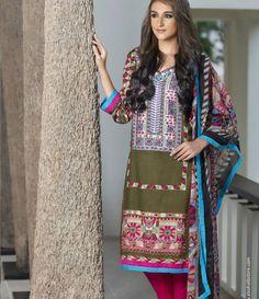 Anaya Embroidered Suits Collection anaya_03B