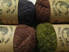 Set 6x50g 100% WOOL Natural YARN. Great for knitting winter