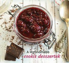 Baloghné Kele Judit: A legfinomabb csokis desszertek Minden, Acai Bowl, Cabbage, Pudding, Vegetables, Breakfast, Desserts, Vaj, Food