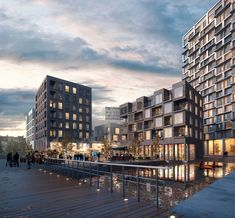 WAN:: Key West by Henning Larsen & Architects A2RC in Brussels