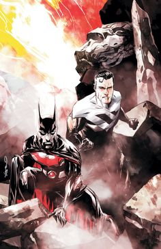 BATMAN BEYOND UNLIMITED #7 by Dustin Nguyen