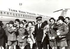 Turkish Airlines Cabin Crew - 70's