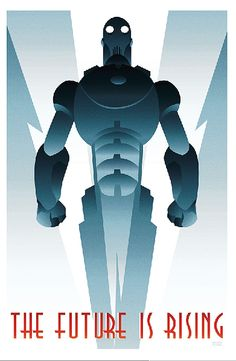 ROBOT 1 art deco by rodolforever on DeviantArt Art Deco Posters, Cool Posters, Vintage Posters, Movie Posters, Arte Robot, Robot Art, Cyberpunk, Photographie Street Art, Beton Design