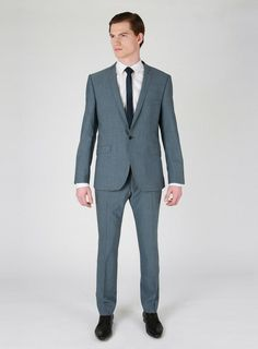 Ben Sherman Airforce Blue Ultra Slim Fit Suit Trouser in Blue for Men - Lyst