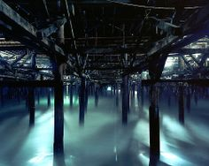 under the pier. santa monica, ca. 2006.