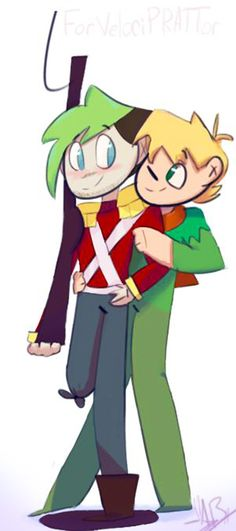 Vervian and Jacksepticeye! The Steadfast Tin Soldier by power5pro