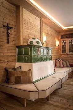 Luxus Chalet Schmiedalm Saalbach Hinterglemm -  - #Genel Chalet Design, Chalet Style, Tree House Interior, Chalet Interior, Interior Design, Modern Farmhouse Kitchens, Rustic Kitchen, Style At Home, Barbecue Garden