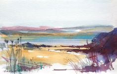 Original Water Colour painting 'Shoreline' Signed