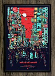 Blade Runner - Fan made neon poster